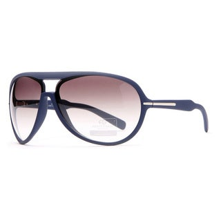 Anais Gvani Women's Stripe Aviator Sunglasses