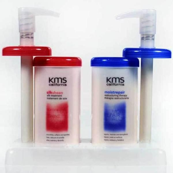 KMS California Silksheen and Moisture Repair Treatment Set