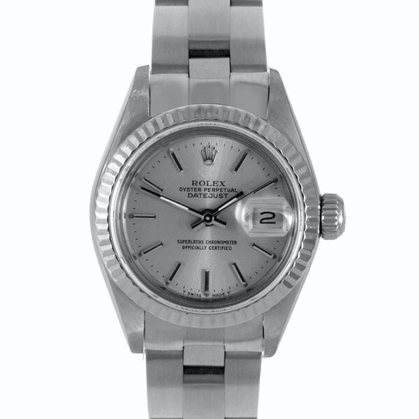 Pre-Owned Rolex Women's Stainless Steel Oyster Watch