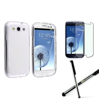 BasAcc Case/ Stylus/ Diamond LCD Protector for Samsung Galaxy S3/ SIII