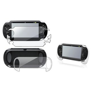 BasAcc Hand Grip/ Full-body LCD Protector for Sony Playstation Vita