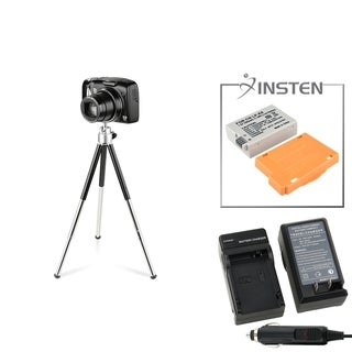 INSTEN Battery/ Charger/ Tripod for Canon EOS 550D/ 600D/ Rebel T3i
