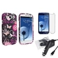 BasAcc Case/ Car Charger/ LCD Protector for Samsung Galaxy SIII/ S3