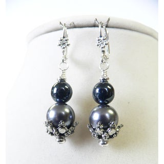 'Rayna' Duotone Pearl Earrings
