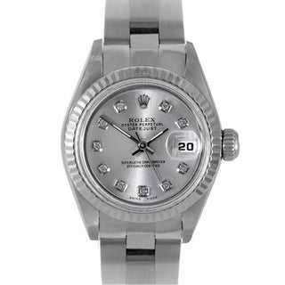 Pre-owned Rolex Women's Stainless Steel Datejust Watch
