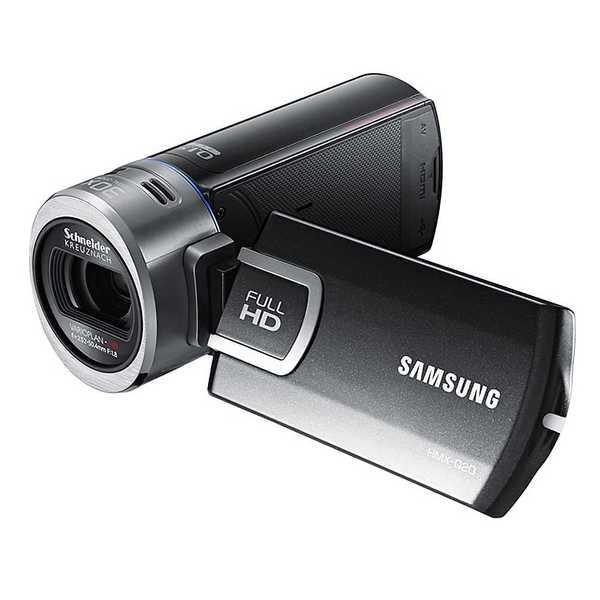 "Samsung HMX-Q20 Digital Camcorder - 2.7"" - Touchscreen LCD - BSI CMOS"