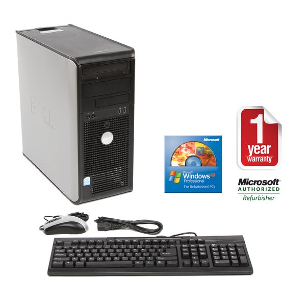 Dell GX520 2.8GHz 80GB MT Computer (Refurbished)