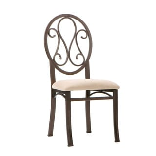 Upton Home Lucianna Brown/ Beige Chairs (Set of 4)
