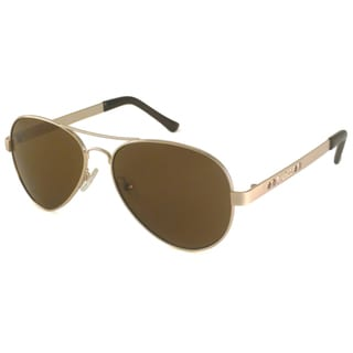 Guess Men's GUF103 Aviator Sunglasses