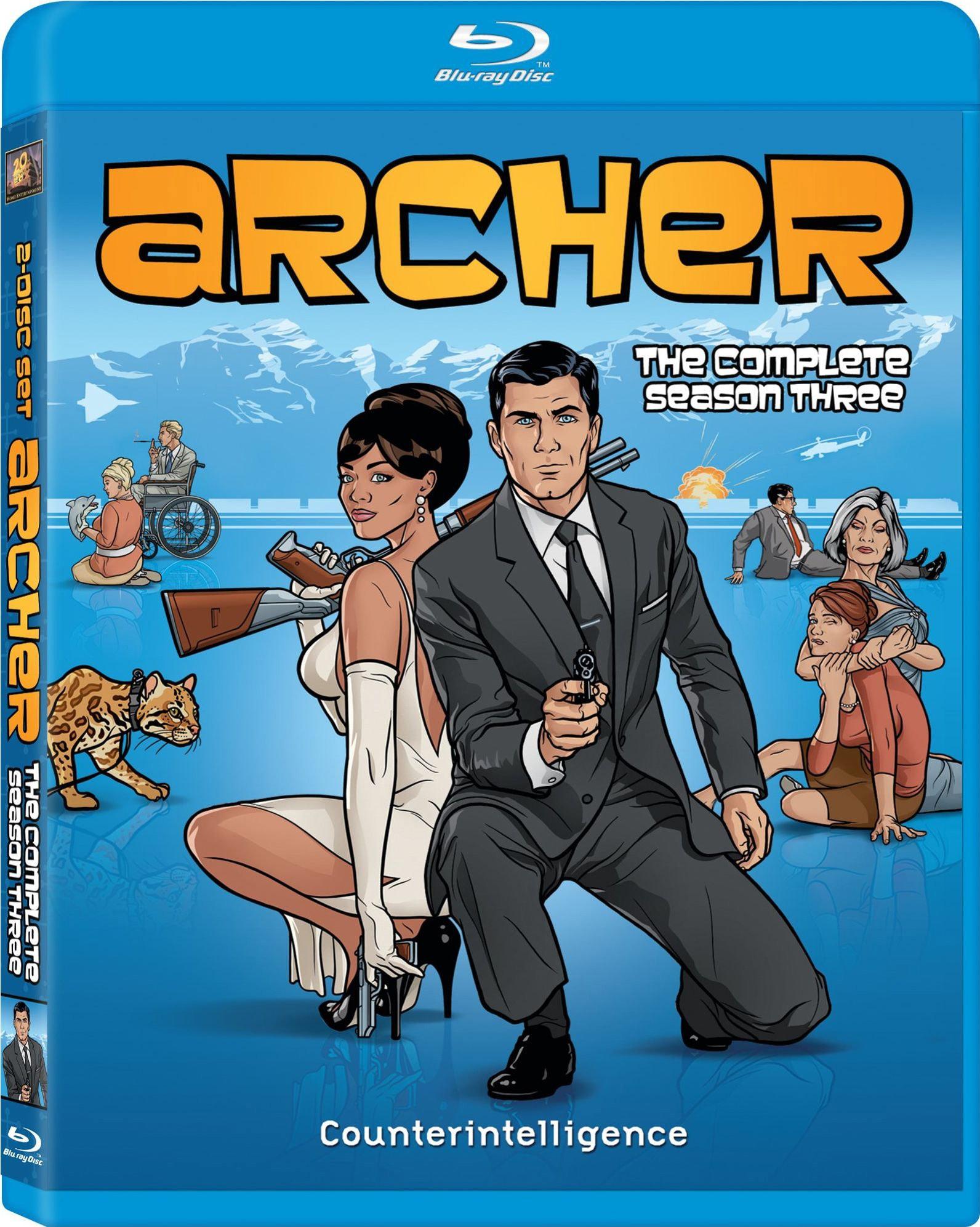 Archer Season 3 (Blu-ray Disc)