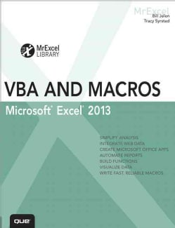 Excel 2013 VBA and Macros (Paperback)