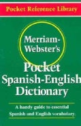 Merriam-Webster's Pocket Spanish-English Dictionary (Paperback)