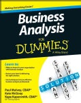 Business Analysis for Dummies (Paperback)