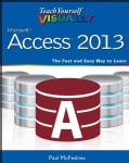 Teach Yourself Visually Microsoft Access 2013 (Paperback)