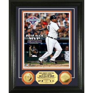 2012 ALCS MVP Gold Coin Photo Mint