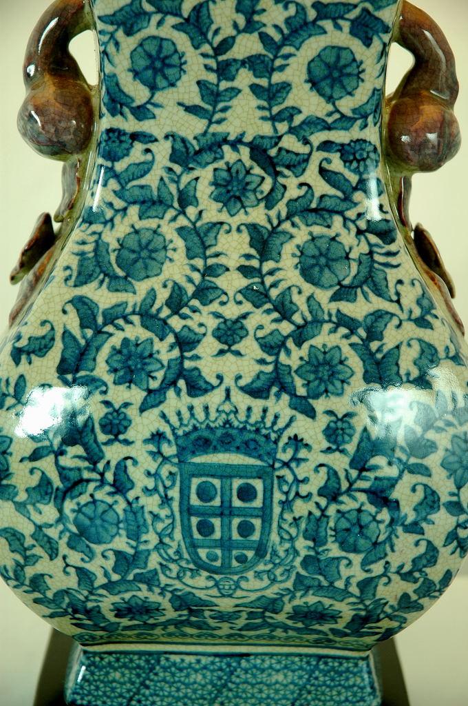 Blue and White Pagoda Lamp (China)