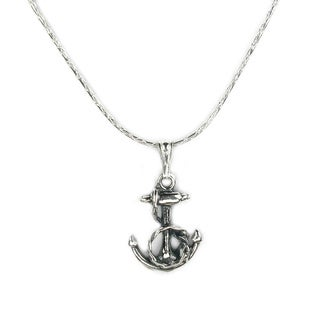 Jewelry by Dawn Fancy Anchor Sterling Silver Necklace