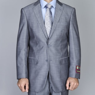 Giorgio Fiorelli Men's Light Grey 2-Button Suit