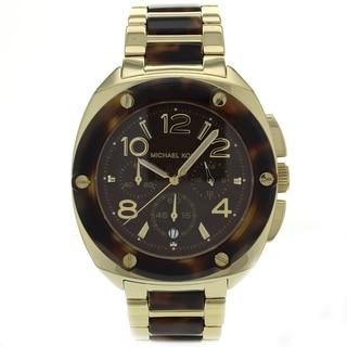 Michael Kors Women's MK5593 Tribeca Brown Stainless Steel Watch