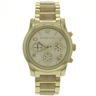 Michael Kors Women's MK5660 Runway Stainless Steel Watch