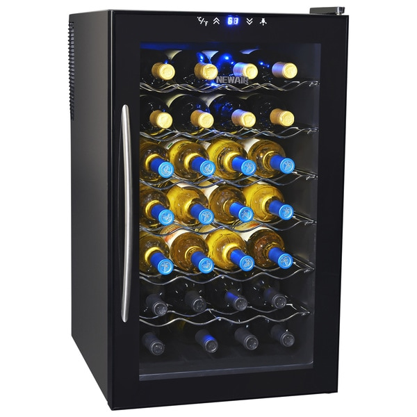 NewAir Appliances Thermoelectric Black Wine Cooler