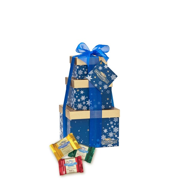 Ghirardelli Chocolate Frosty Favorites Gift Tower