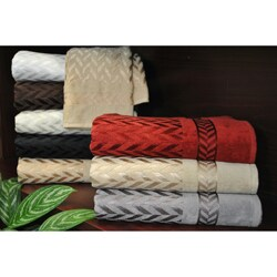 Austin Horn Classics Milano Jacquard 3-piece Towel Set