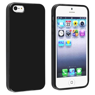 BasAcc Black Jelly TPU Case for Apple� iPhone 5/ 5S