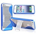 BasAcc Blue S Shape TPU Case for Apple iPhone 5