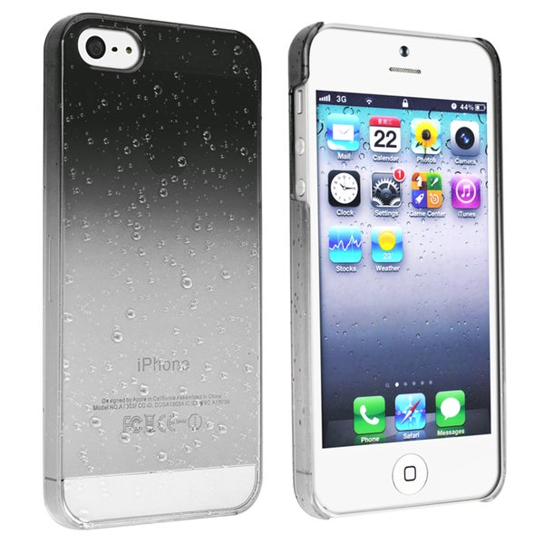 BasAcc Clear Smoke Waterdrop Snap-on Case for Apple® iPhone 5