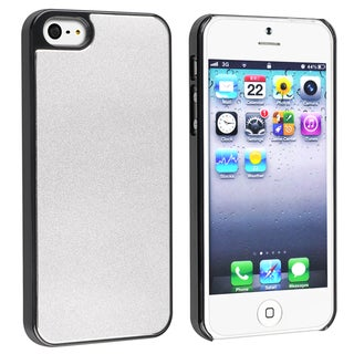 BasAcc Silver Frost Aluminum Snap-on Case for Apple� iPhone 5