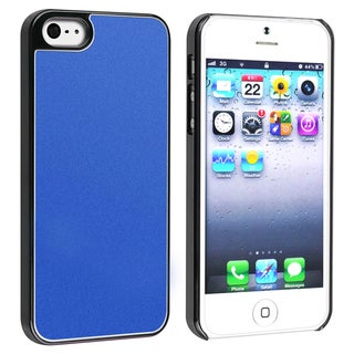BasAcc Blue Frost Aluminum Snap-on Case for Apple� iPhone 5