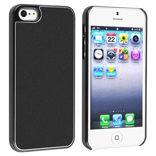 BasAcc Black Frost Aluminum Snap-on Case for Apple� iPhone 5
