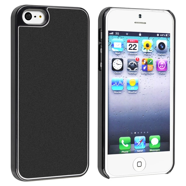 BasAcc Black Frost Aluminum Snap-on Case for Apple® iPhone 5