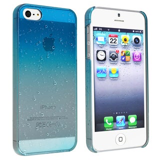 BasAcc Clear Sky Blue Waterdrop Snap-on Case for Apple� iPhone 5