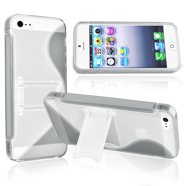 BasAcc Smoke S Shape TPU Case for Apple® iPhone 5