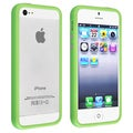 BasAcc Green TPU Rubber Bumper Case for Apple� iPhone 5