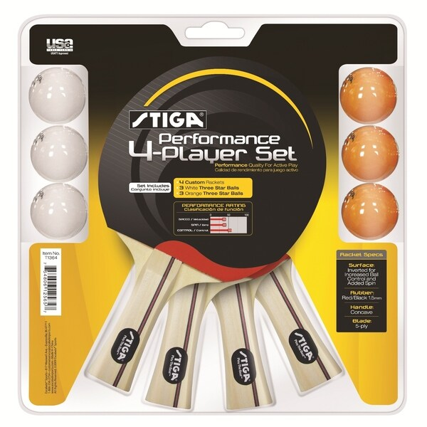 Stiga Performance 4 Player Set