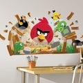 Angry Birds Peel &amp; Stick Giant Wall Decals