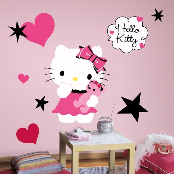 Hello Kitty Couture Peel & Stick Giant Wall Decal