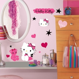 Hello Kitty Couture Peel & Stick Wall Decals