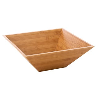 Monte Carlo Large Bamboo Serving Bowl