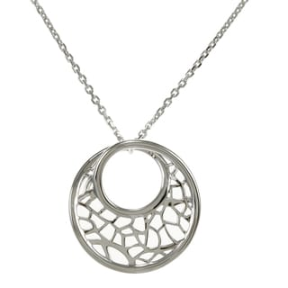 ELLE Sterling Silver Rhodium-plated Necklace