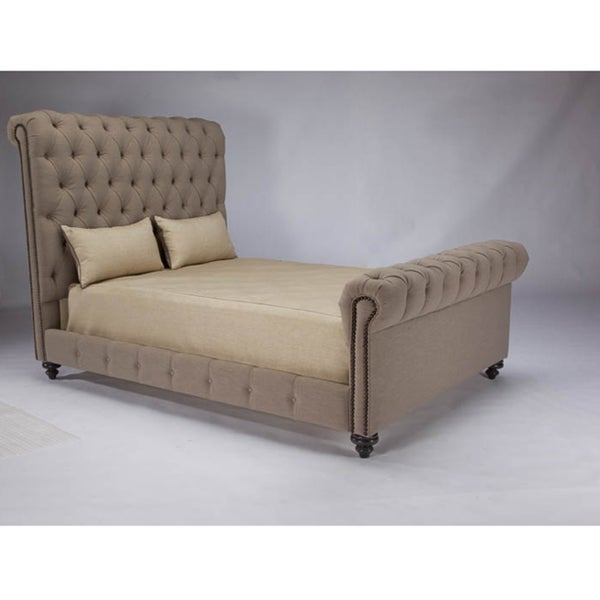 JAR Design 'Alphonse Tufted' Feather Bed with Footboard