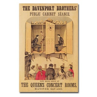 The Davenport Brothers 1865' Canvas Art