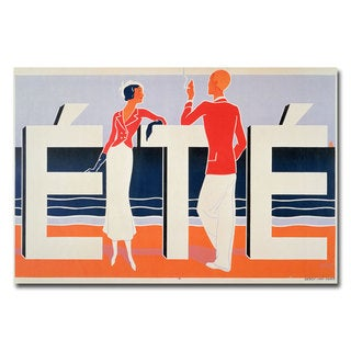 M.E. Caddy 'Ete, 1925' Canvas Art