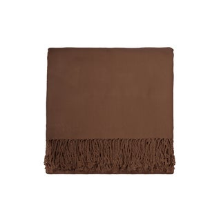 Solid Bamboo 50 x 70 Taupe Throw