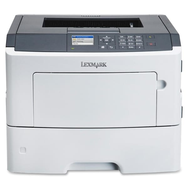 Lexmark MS610DN Laser Printer - Monochrome - 1200 x 1200 dpi Print -