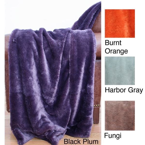 Faux Fur 50 x 60 Throw