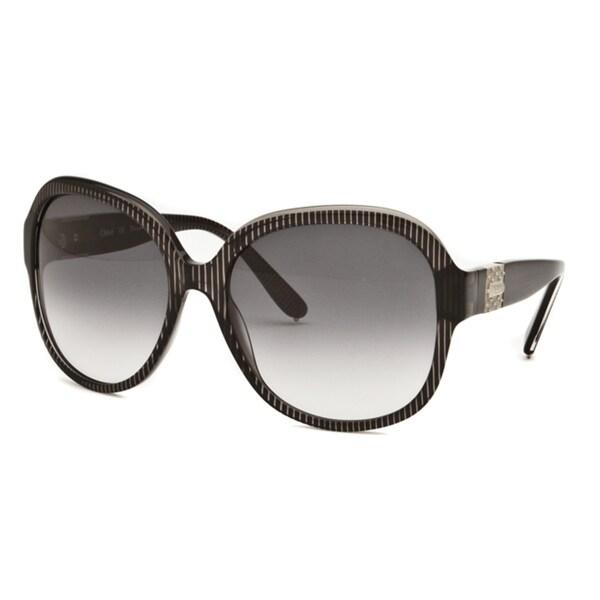 Chloe Women's 'Cirse' Transparent Black Fashion Sunglasses